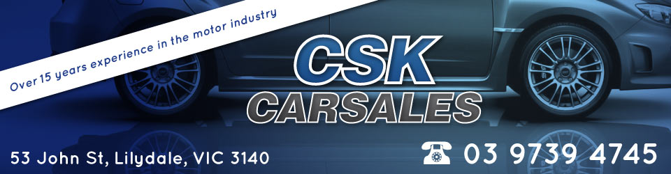 Logo for CSK Carsales - Lilydale - 03 9739 4745